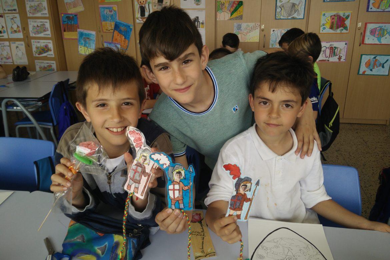 Diada de Sant Jordi al Cicle Mitjà!