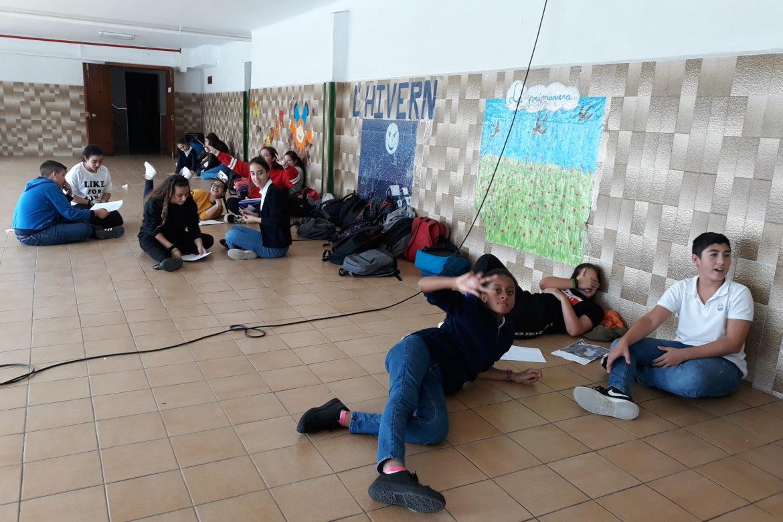 Els alumnes de 2n i 4t estrenem el TEI