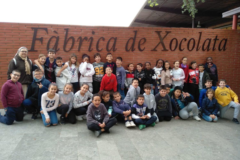 Excursió Espai de xocolata Simón Coll i Caves Blancher