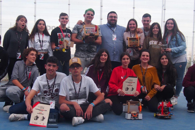 Robocat 2019, campions de Barcelona!